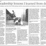 Six leadership lessons I learned from dogs
