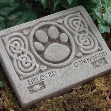 Likeable pet grave markers for dogs with celtic stone dog stones pet grave markers pet monuments - Great Dog and Cat